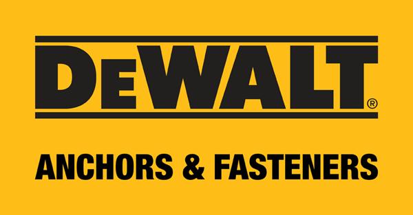 DEWALT Anchors & Fasteners Logo