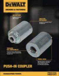 Push-In Coupler Sell Sheet